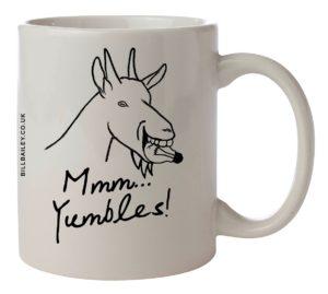 """Mmm Yumbles"" mug"